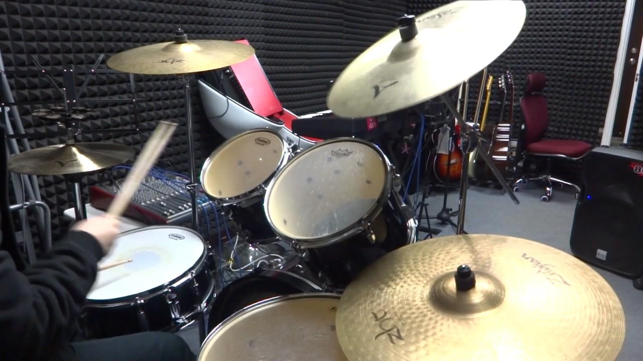 四個流行曲常用的八分節奏 基本功速成教學 Basic 8th note pattern(Drum Rudiment)