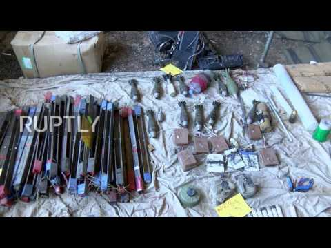 Iraq: Nineveh police seize IS-operated robots in Mosul
