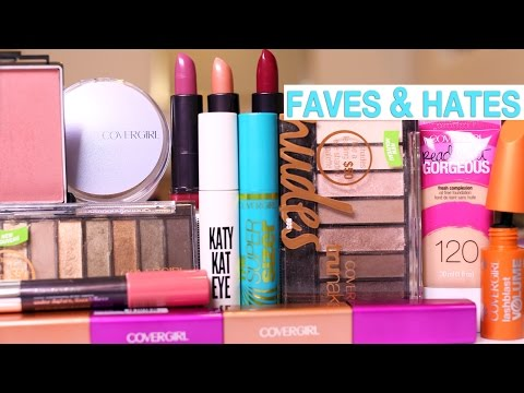 DRUGSTORE MAKEUP Favorites & Hate it's | COVERGIRL