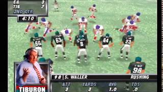 Madden 64 Full Game - EA Sports vs Tiburon @ EA Sports Stadium (N64/Hardware)