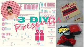DIY : 3 opções de presente de Natal #vlogmas