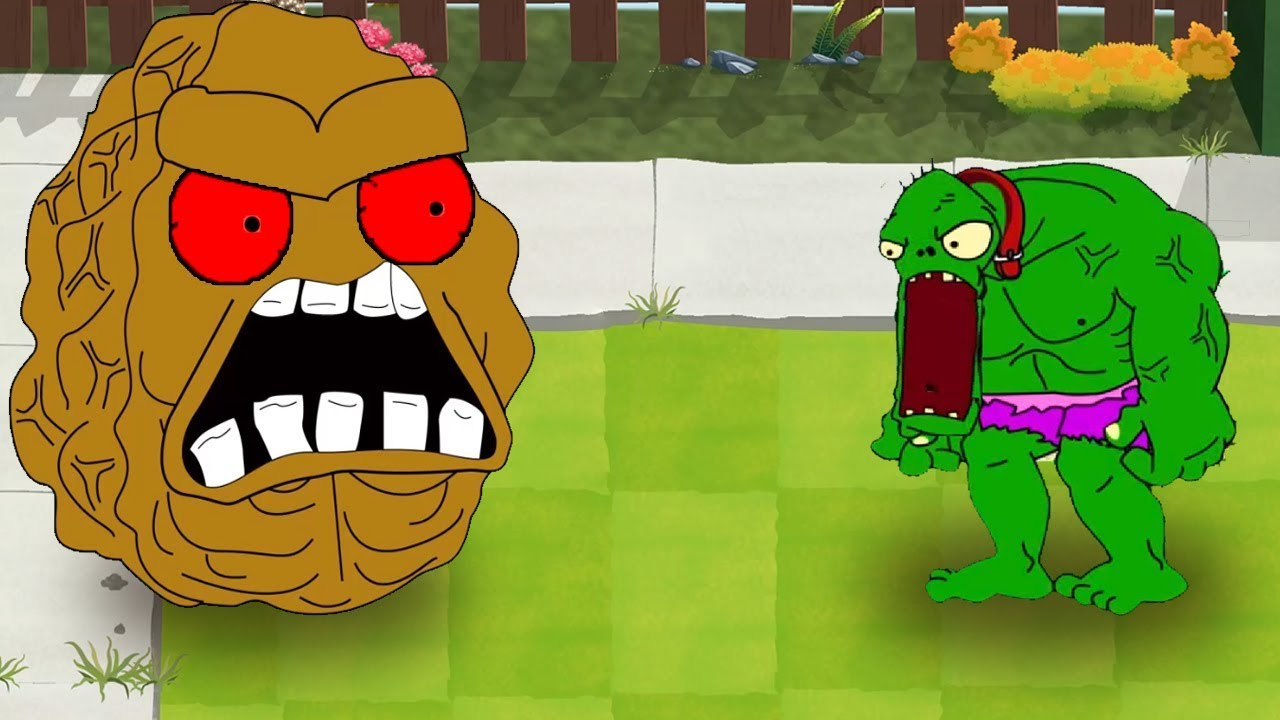 Plants Vs Zombies GW Animation   Episode 7   Hulk Garden Kombat Z