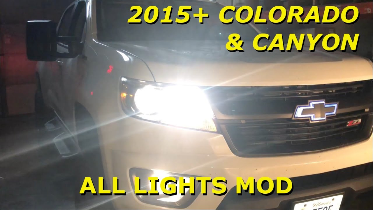 hight resolution of fog lights on with high beams all lights mod 2015 2019 colorado mix fog wiring diagram