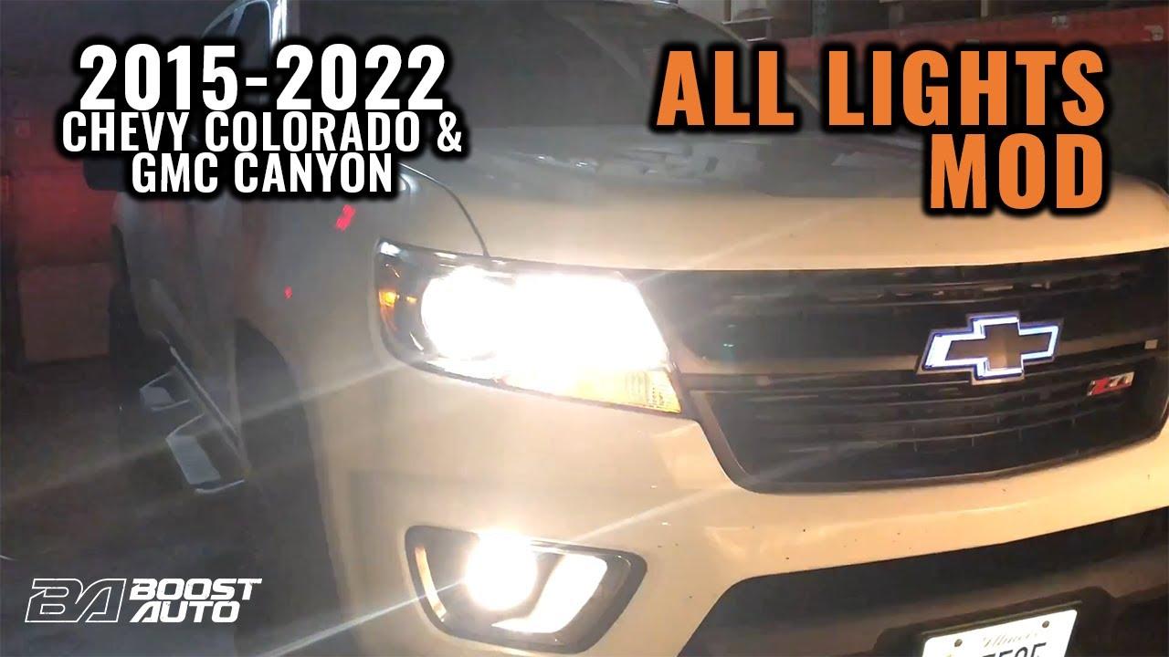 medium resolution of fog lights on with high beams all lights mod 2015 2019 colorado mix fog wiring diagram