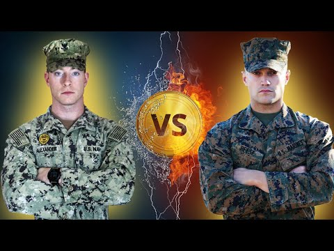 US MARINE vs US NAVY SAILOR STRENGTH BATTLE | Who's Stronger?