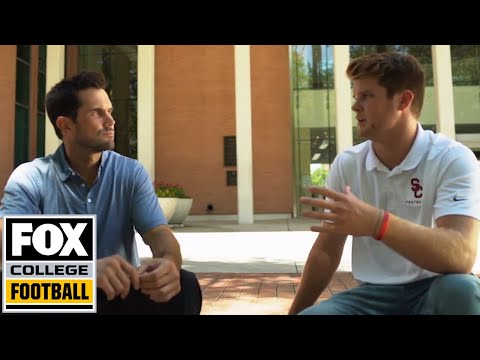 Matt Leinart sits down with Heisman Hopeful, USC QB Sam Darnold | Feature | FOX COLLEGE FOOTBALL