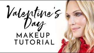 Valentine's Day Makeup Tutorial | Molly Sims 2018
