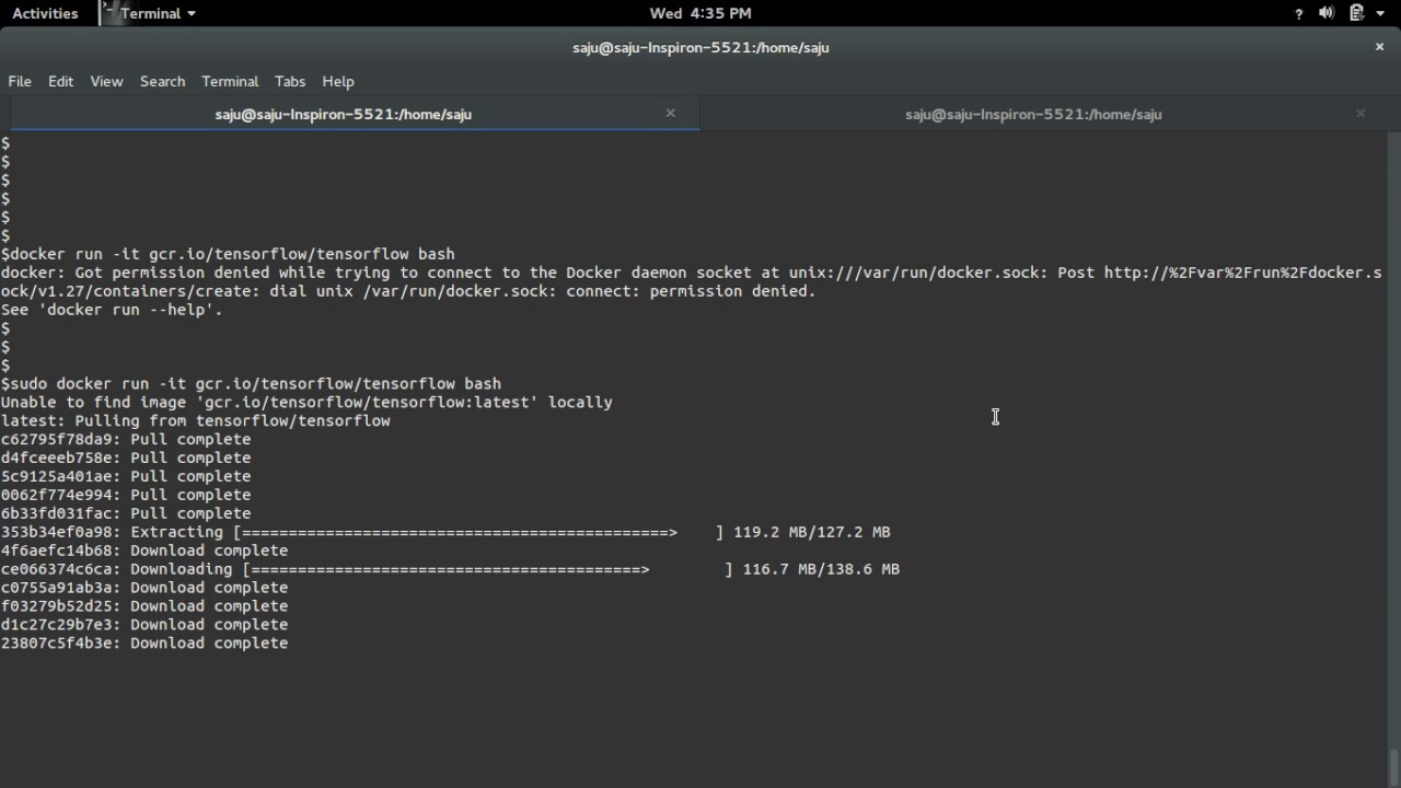 How to Install TensorFlow on Ubuntu with Docker