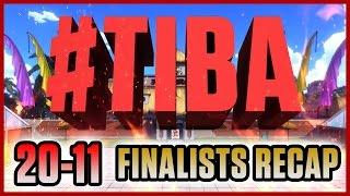 #TIBA Countdown Recap: #20-11