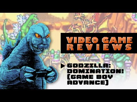 Godzilla: Domination! (Game Boy Advance) - MIB Video Game Reviews Ep 9