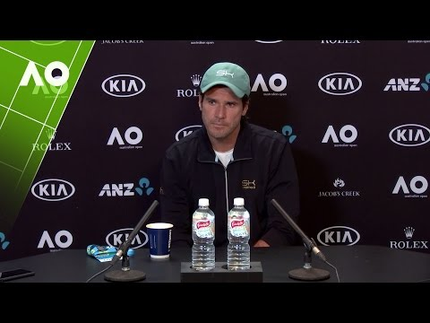 Tommy Haas Pre-Tournament Press Conference | Australian Open 2017