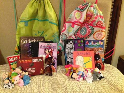 DIY Kids Travel Kits