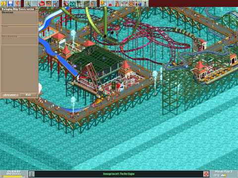 Let's play Rollercoaster Tycoon #121 (Big Pier: Rough seas)