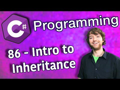 C# Programming Tutorial 86 - Intro to Inheritance thumbnail