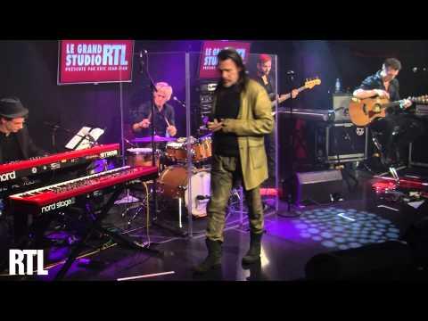 Florent Pagny - Les murs porteurs en live dans le Grand Studio RTL