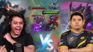 1 VS 1 Sama R7 , Thamuz VS Thamuz Asli Sengit Bgt Boss!! - Mobile Legends