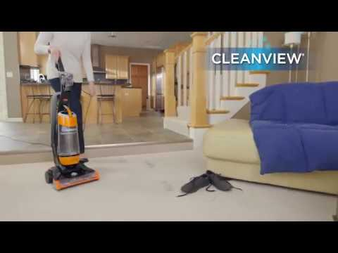 Bissell Cleanview Upright Bagless Vacuum Cleaner, Orange Overview