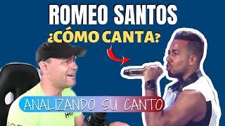 ROMEO SANTOS ¿CÓMO CANTA  ???? Analizando Su Canto En Vivo