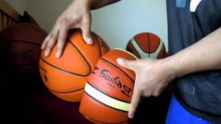 """real or fake official MOLTEN GL7 (BGL7) """"genuine leather"""" indoor FIBA game basketball???"""