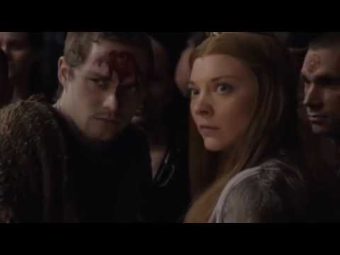 Kevan Lannister died clutching Mace Tyrell at the hands of Cersei Lannister