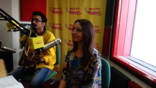 Gioconda talks about herself on Christmas at Radio Mirchi with RJ Jeeturaaj