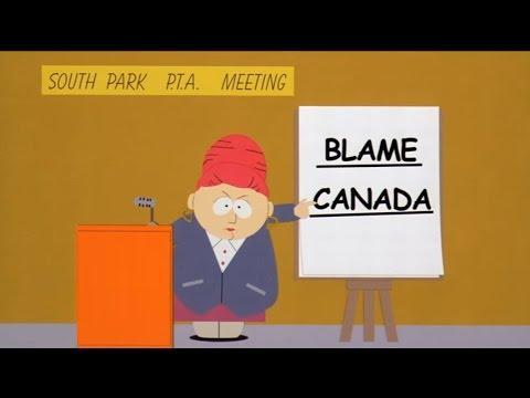 Blame Canada-South Park: Bigger, Longer & Uncut (Lyrics)
