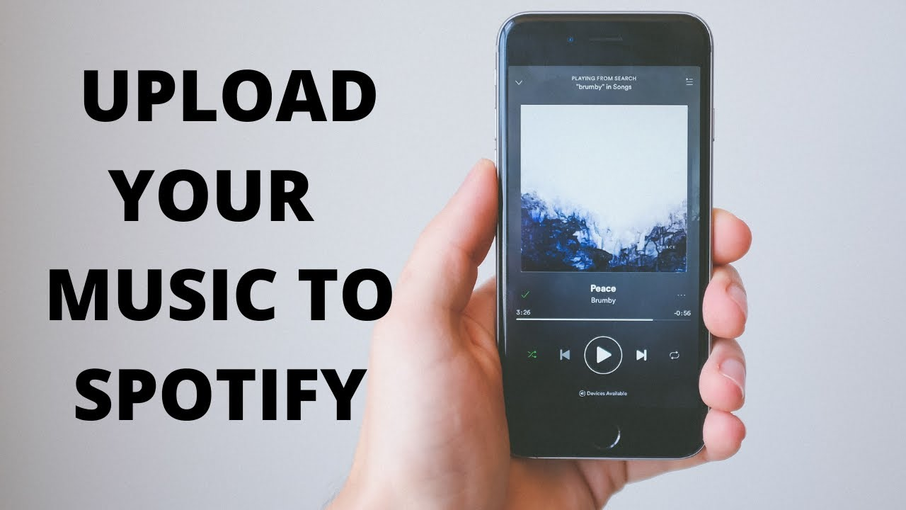 How To Upload Your Music To Spotify - YouTube