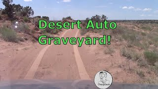 We found Auto Graveyard on Our Desert  Sunday Funday Drive in New Mexico. Here