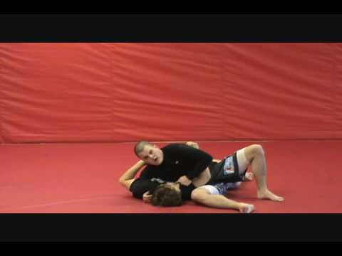 Striking from Side Control