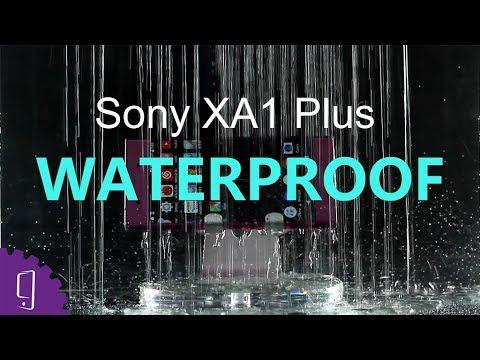 pretty nice 6cbef 0ef5e Sony Xperia XA1 Plus Waterproof Test