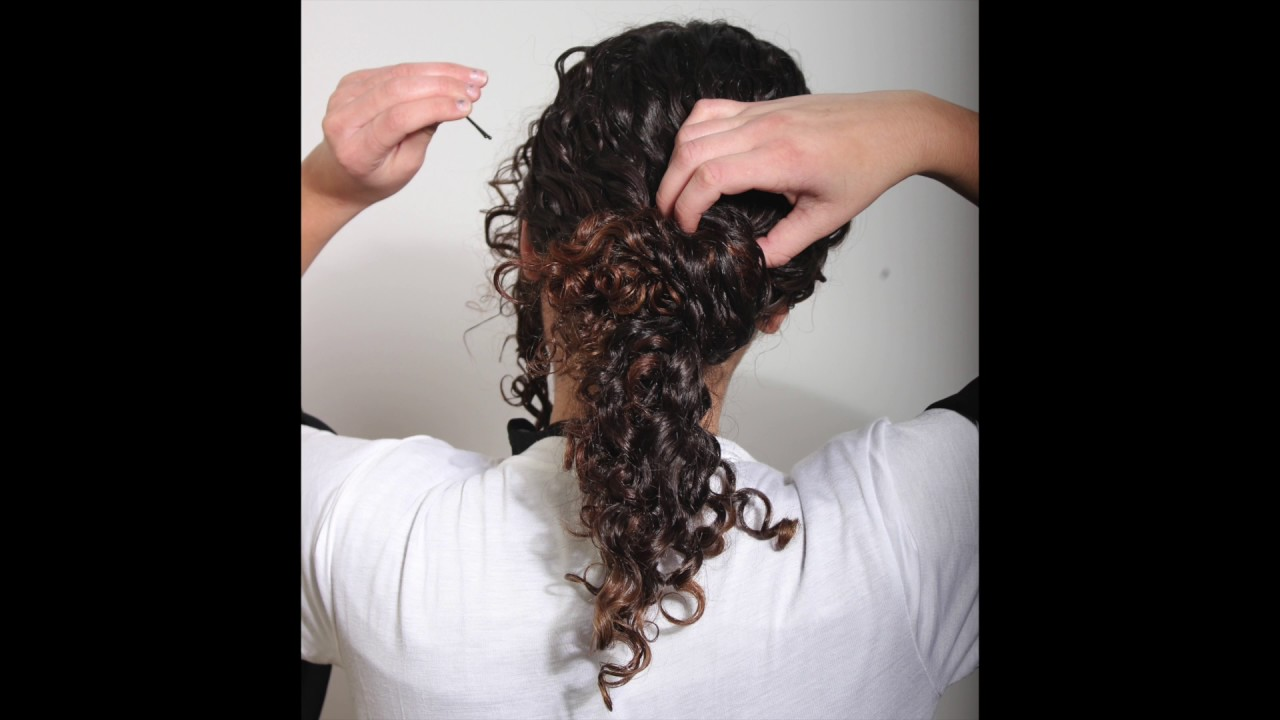 How To Transform Your Curls From Day To Night Curly Hair Party Look