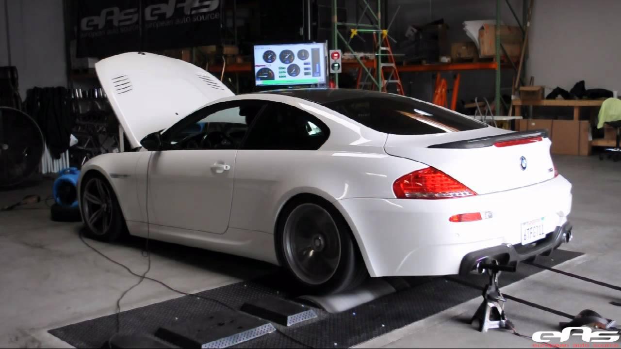 Eas 2010 Alpine White Bmw M6 Dyno Youtube