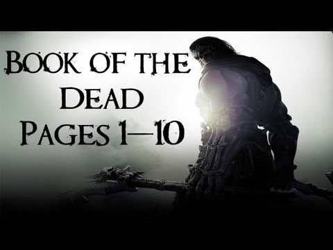 Darksiders 2 Collectibles Walkthrough - Book of the Dead Pages 1-10