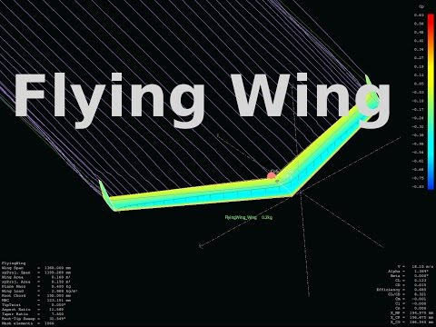 Designing And Building A Flying Wing RC Model From Scratch XFLR5