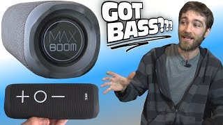 """MAX BOOM"" Speaker Exposed!!! Does It Have GOOD BASS? Sound Loud Outdoors?"
