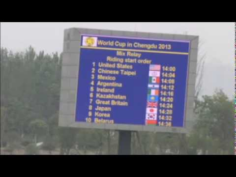 Modern Pentalthon World Cup Series #3 Chengdu Riding Mixed Final