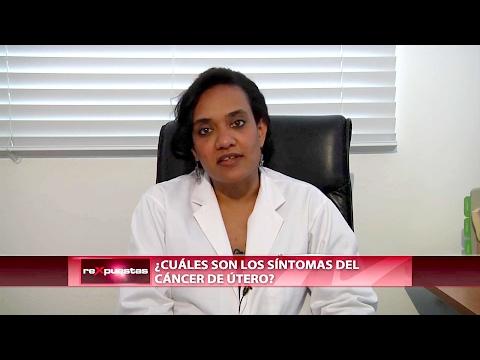 ¿Cuáles son los síntomas del cáncer de útero?