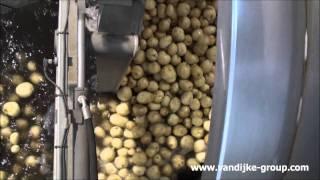 Drumwasher Potatoes