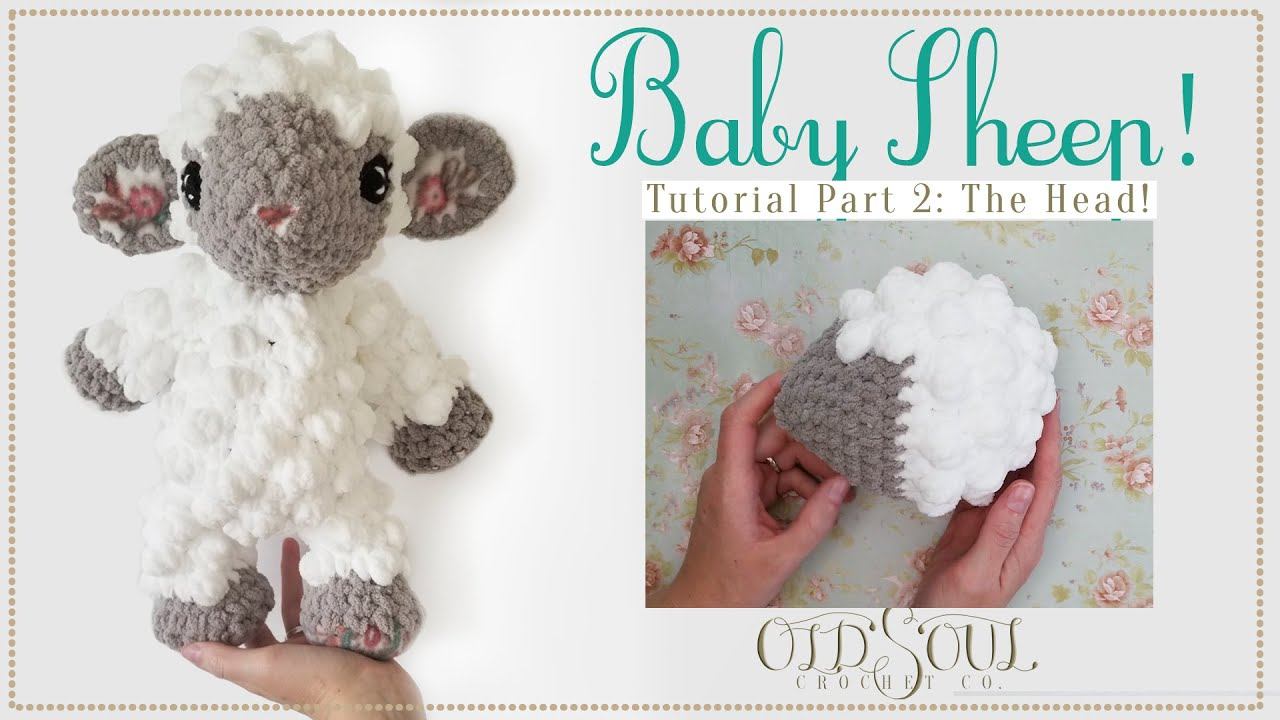 Baby Sheep Crochet-Along! | Part 2 The Head