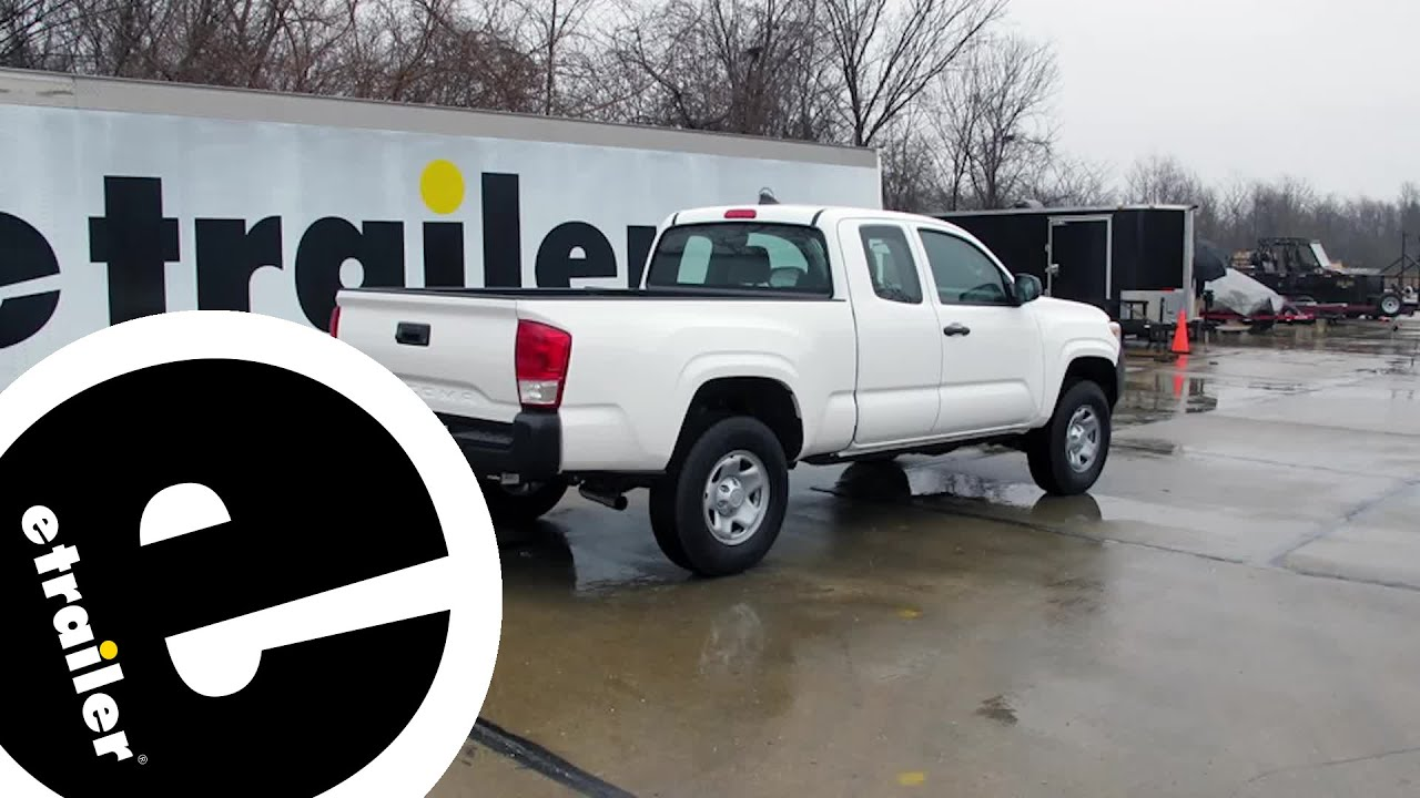 Best 2016 Toyota Tacoma Hitch Options Etrailer