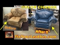 LEATHER COLOR CHANGE VIDEO *****   FixYourLeather.com