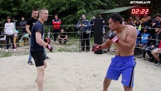 WILD PANDA STYLE vs MMA Fighter !!! Cool Fight !!!