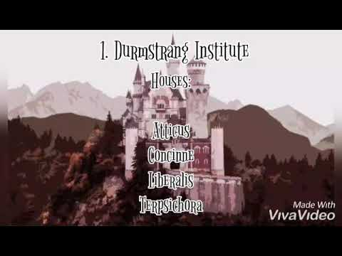 Durmstrang Beauxbatons And Ilvermorny Houses And Headmasters Youtube Durmstrang also has medieval roots. youtube