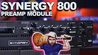 Synergy 800 Preamp module - Sounds Like marshall JCM800!!!