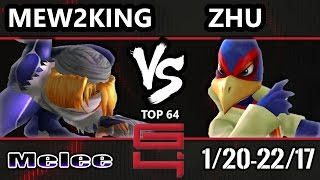 genesis 4 ssbm   fox mvg mew2king sheik vs boxr zhu falco smash melee winners ro32