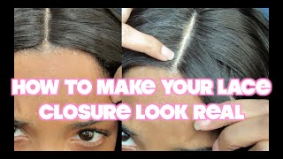 One of ROCHELLE CLARKE's most viewed videos: HOW TO MAKE YOUR LACE CLOSURE LOOK REAL
