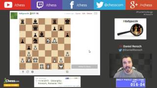 23 Chess Puzzles In 23 Minutes