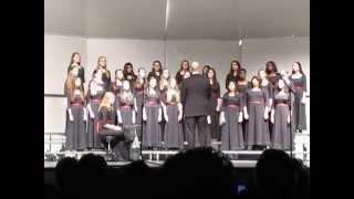 """Hakuna Mungu Kama Wewe"" sung by the Herndon Middle School Advanced Women's Choir on Feb. 28, 2014"