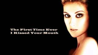 Celine Dion-The First Time Ever I Saw Your Face With Lyrics