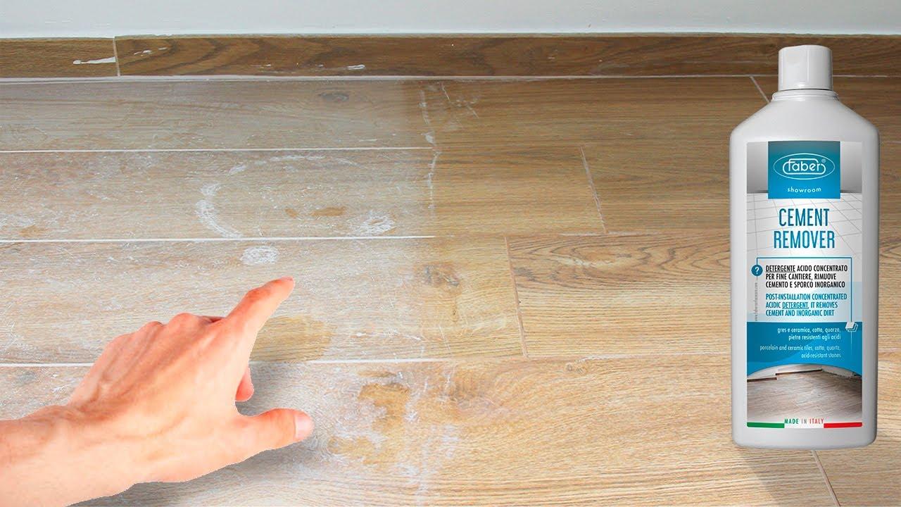 Prodotti Per Ravvivare Il Cotto faber - come pulire il cemento di fine cantiere (dopo posa) da pavimento in  gres porcellanato